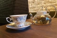 Chá mágico de flor